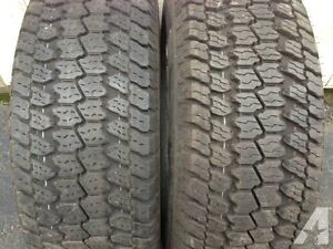 "4-GOODYEAR WRANGLER AT/S-LT275-65-R18""-60-70% TREAD."