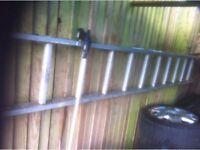 Aluminium Ladder - 4.5 meters - good condition