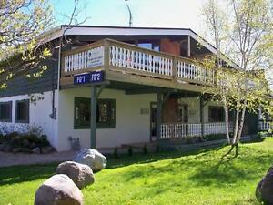 4 Bed Blue Mountain Swiss Chalet - Private Beach Access
