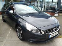Volvo V60 D4 [163] R DESIGN Lux Geartronic Auto (HALF LEATHER+SAT NAV)