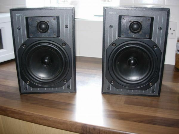 LOOK Quality Kef C10 Bookshelf HI-FI Speakers