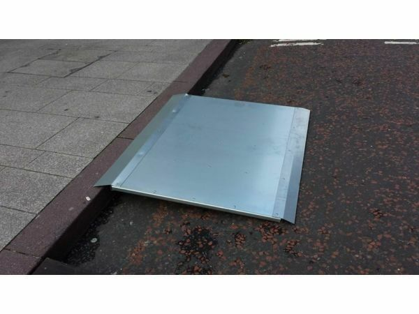 GALVANISED KERBS RAMP FOR QUADS AND LAWNMOWERS
