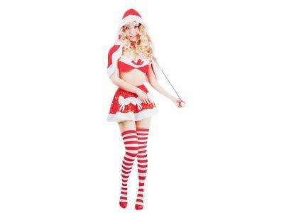 Weihnachts-kostüm für Frauen Damen sexy Santa Weihnachtsfrau Weihnachtsmann 104