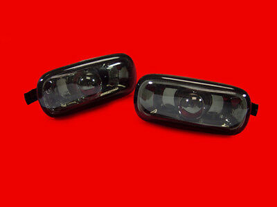 DEPO Pair Smoke Fender Side Lights For 2002-2005 Audi B6 Chassis A4 / S4 / RS4