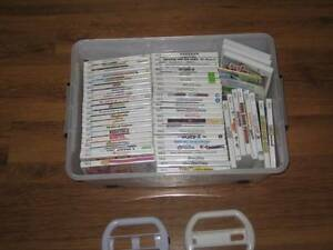 44 nintendo wii games all but 3 are 5 each