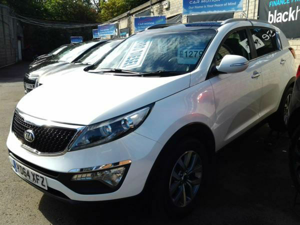Kia Sportage 1.7 CRDi ISG 2 (HALF LEATHER+GLASS ROOF)