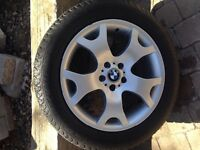 Like New Original BMW tires and mags