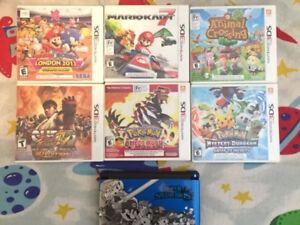 3DS XL (Super Smash Bros. Edition) + 6 Games