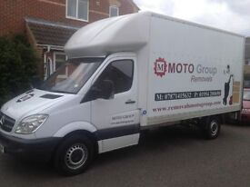 Removal services, large Luton van with tail - lift ,MAN and VAN- Cambridge based