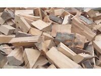 Seasoned hardwood logs 07982825058