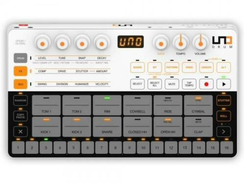 IK Multimedia Uno Drum analoge drumcomputer