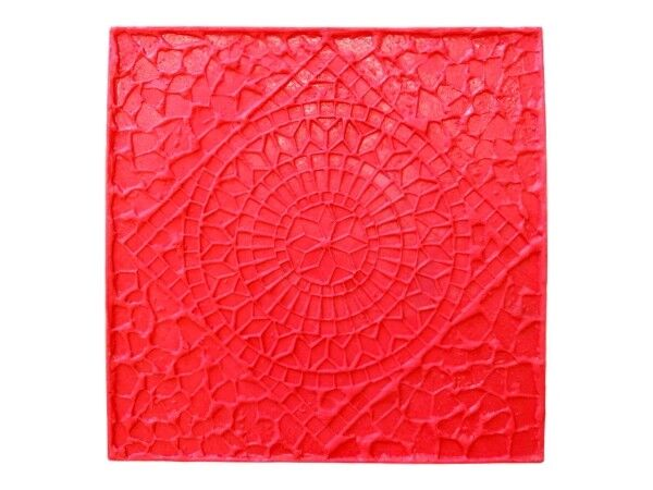 Weathered Mosaic Tile | Decorative Concrete Stamp by Walttools (Rigid)