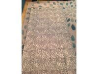 Curtains eyelet lined from Dunelm - NEW