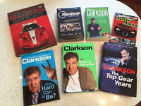 Top Gear Triple DVD unopened and selection of books