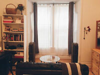 Bright downtown lofted studio avail for lease transfer - Sept 1