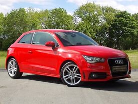 Audi A1 S line (red) 2011