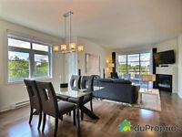 Magnifique condo 3 chambres Blainville, garage, foyer, terrasses