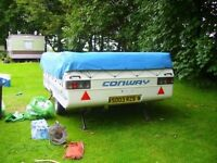Conway Cruiser Folding Camper Trailer Tent