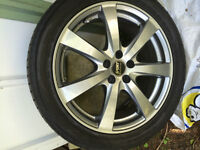 Tires and rims for Mark 4 Golf