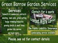 Gardener, Garden Services Sheffield, Garden Clearance, Hedge Trimming, Domestic & Commercial