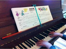 Piano Teacher Tutor Lessons - Central London One-to-one Piano Lessons - Paddington, Edgware Road