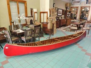 Cedar Red Canoe - REDUCED TO SELL!