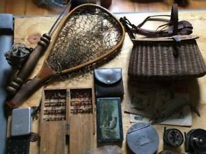 WANTED VINTAGE FISHING TACKLE