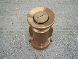 SOLID BRASS FIRE NOZZLE (TORONTO)