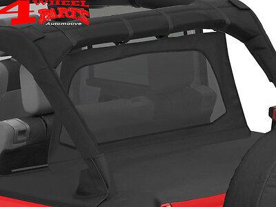 Pavement Ends Cab Curtain Protection 07-14 Wrangler Unlimited JKU 4 Door Black