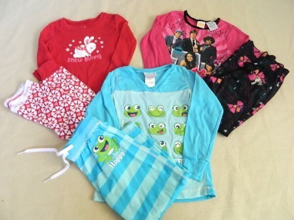 Lot 3 Girls Pajamas 4/5  Old Navy, St Eve, High School Musical