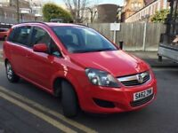 Vauxhall zafira exclusive, full service history 1 former keeper, 1.6, 7 seater
