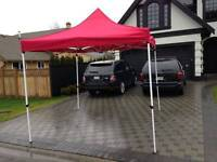 MARKET TENT, gazebo, POP UP TENT- FREE DELIVERY!