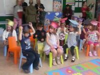 spot available for preschool french immersion 2 years to 5 years