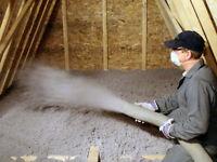 Attic Insulation - Cellulose Fibre Insulation