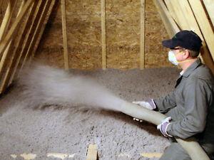 Attic Insulation - Cellulose Fibre Insulation Kingston Kingston Area image 1