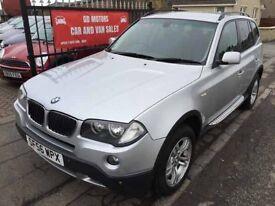 BMW X3 SE 2.0 DIESEL (56) 80000 MILES, MOT JAN 17, WARRANTY £5295