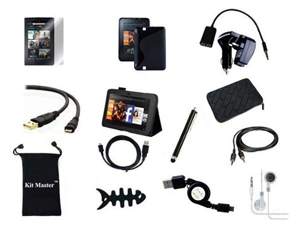 KitMaster Accessory Bundle for Amazon Kindle Fire
