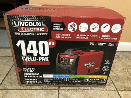 Lincoln Electric Weld-Pak 140HD K2514-1 Wire Feed Welder New Free Ship Priority