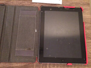 iPad 2nd Generation 16GB with leather case