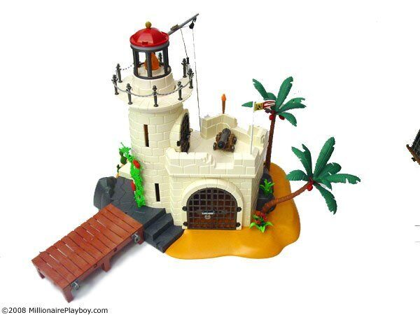 playmobil lighthouse fortress