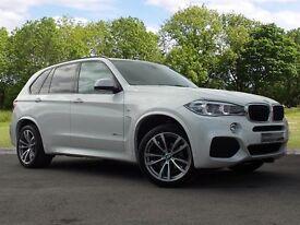 BMW X5 XDRIVE30D M SPORT (white) 2016