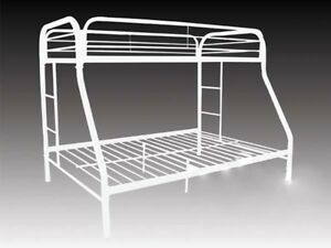White metal bunk beds....also twin beds also a captins bed