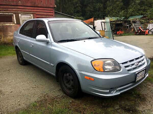 2005 Hyundai Accent Hatchback-Selling CHEAP-Excellent Condition