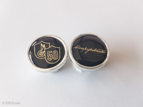 Vintage style Campagnolo 50th anniversary Handlebar End Plugs