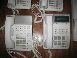 2xPanasonicKXTD816 Systems(1with add 4 line add)+5 Handsets