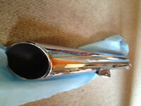 NEW OEM stock exhaust pipes for 2010 TRIUMPH THUNDERBIRD