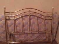 Nice metal double headboard-possible delivery