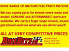 BikeBitsNI - Motorcycle Performance, Parts, Accessories, Clothing, Helmets & MUCH MORE - YOUR NO.1 Bangor & Nationwide Mail Order, Belfast