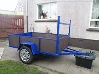 6ft6 X 4ft5 car trailer