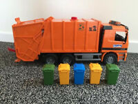 Bruder Scania R Series Bin Lorry